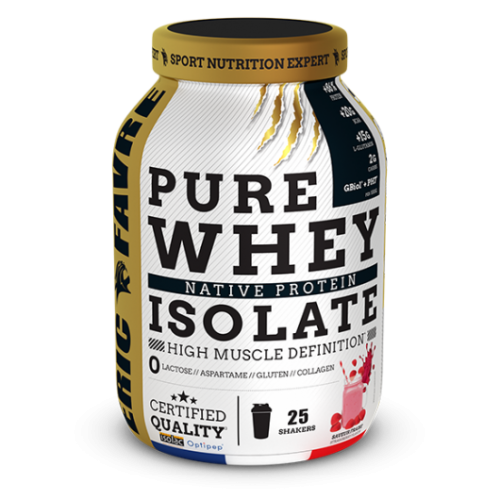 PURE WHEY ISOLATE NATIVE 100% ERIC FAVRE