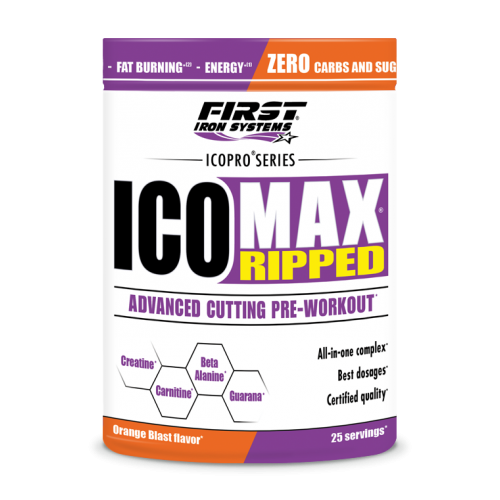 ICOMAX RIPPED 375g | First Iron