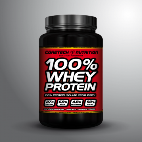 100% WHEY PROTEIN | CORE TECH NUTRITION
